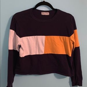 Color block GAZE Sweatshirt